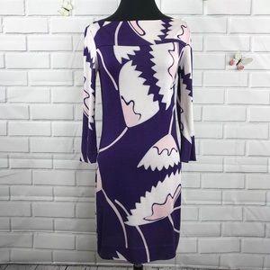 DVF 100% Silk African Tulip Dress 4